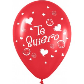 """Globos de 12"""" Te quiero 2"""