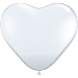 Globos gigantes de 3FT Corazón Diamante Claro Qualatex