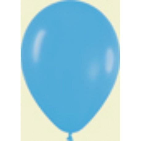 """Globos de 9"""" (22,8cm) Fashion solido Azul Sempertex"""