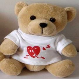 Osito con camiseta Corazón Sonriente
