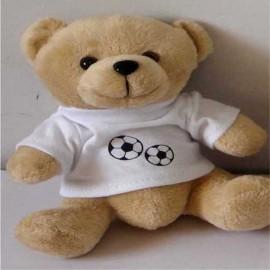 Osito con camiseta Corazón Futbol
