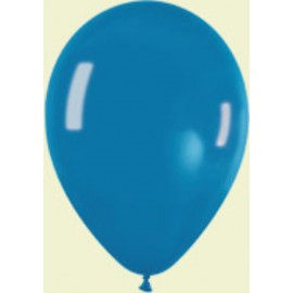"Globos redondos 5"" Premium Crystal azul Turquesa Sempertex"