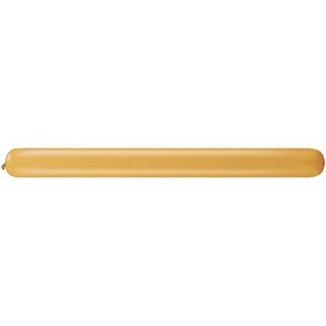 Globos de modelar 350Q Oro Qualatex