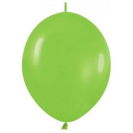 "Globos de 6"" LINK O LOON Verde lima"