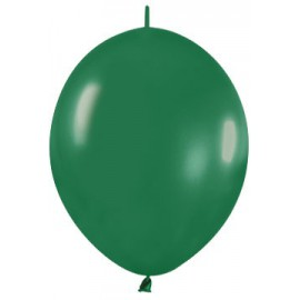 """Globos de 6"""" LINK O LOON Verde selva Sempertex"""