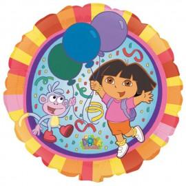 """Globos de foil de 18"""" Dora y Botas"""