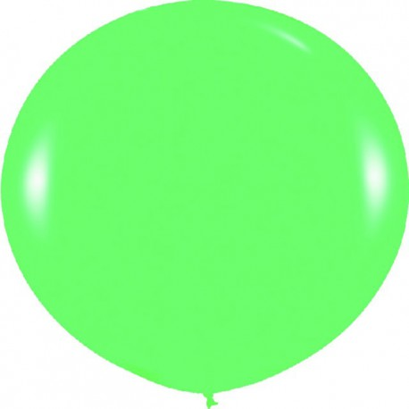 Globos 3FT (100cm) Fashion solido verde llima