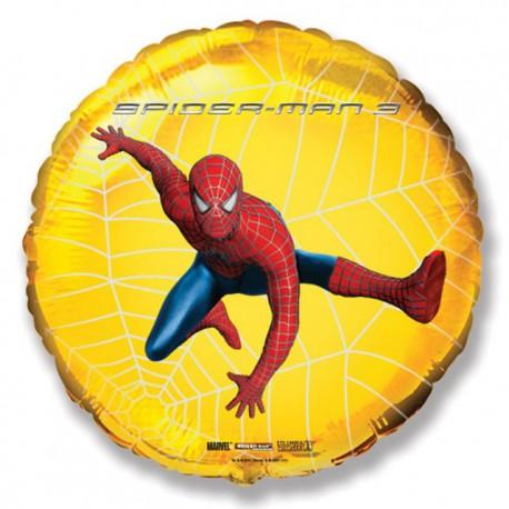 "Globos de Foil Redondos de 18"" (46Cm) Spiderman 3"