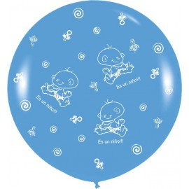 Globos Gigantes de 3Ft Es un niño!!! Azul