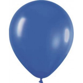 """Globos redondos de 12"""" Azul Metálico"""