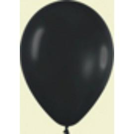 """Globos de 9"""" (22,8cm) Fashion solido Negro"""