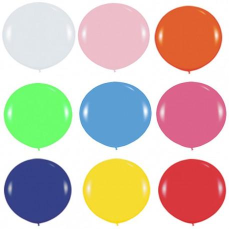 Globos Gigantes de 3Ft colores solidos surtidos Sempertex
