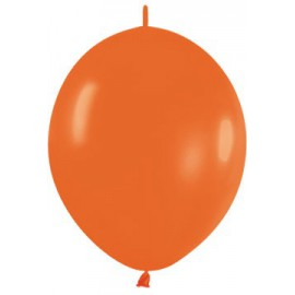 """Globos de 12"""" LINK O LOON Naranja"""