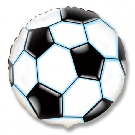 """Globos de Foil Redondos de 18"""" (46Cm) balón negro"""