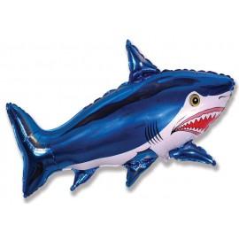 Globos de foil supershape de 75cm x 105cm Tiburón