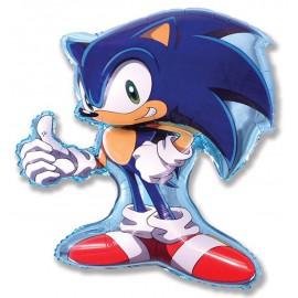 """Globos de foil Minishape de 14"""" X 11"""" (35cm x 27cm) Sonic X"""