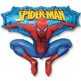 """Foil supershape de 34"""" X 30"""" (86cm x 76cm) The Amazing Spiderman"""