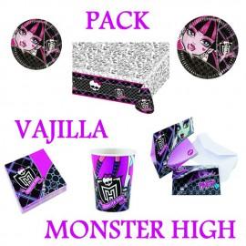 Pack Vajilla Monster High