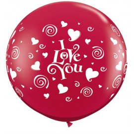 Globos gigantes de 3FT I LOVE YOU