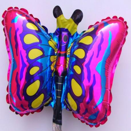 Globos de foil Mini Mariposas Fucsia