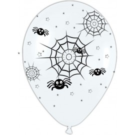 "Globos de 12"" arañas"