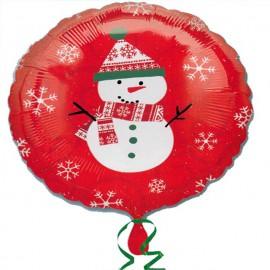 """Foil 18"""" (45Cm) Muñeco de Nieve"""