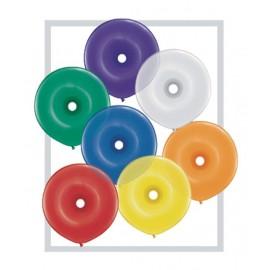 "Geo Donut 16"" colores surtidos 25 u."