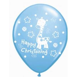 """Globos de 12"""" (30.50Cm) Happy Christening"""
