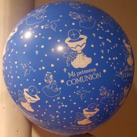 Globos gigantes de 3Ft (100Cm) comunión entero Azul