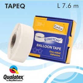 Stretchy balloon tape clik-clik