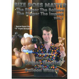DVD Size Does Matter Vol1 Godin