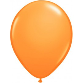 "Globos Redondos de 11"" Standard Naranja Qualatex"