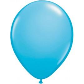 """Globos Redondos de 16"""" (41Cm) Standard Azul Claro Qualatex"""
