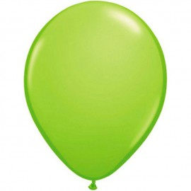 "Globos Redondos de 16"" (41Cm) Fashion Verde Lima Qualatex"