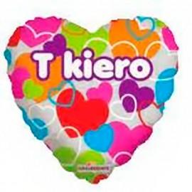 """Globos de foil de 9"""" T Kiero"""