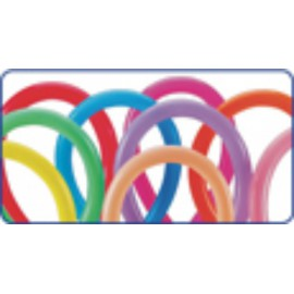 Globos de modelar 660S colores solidos surtidos