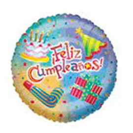 "Globos de foil de 18"" (45Cm) Cumpleaños Festivo"