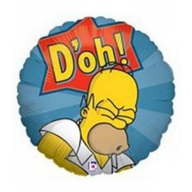 """Globos de foil de 18"""" (45Cm) Homer"""