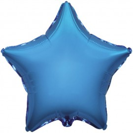 "Globos de foil Estrellas 18"" Azul"