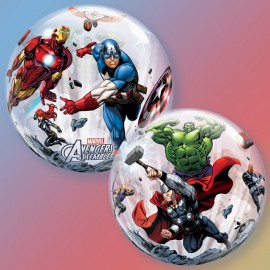 """Globos de foil de 22"""" Bubbles Avengers"""