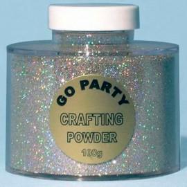Glitter Holographic Plata