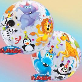 """Globos de foil de 22"""" Bubbles Party Animals"""