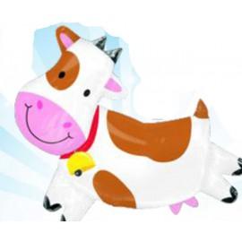 Globos de foil supershape Vaca Colorida