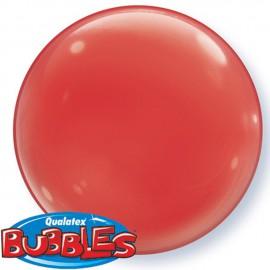 """Globos de foil de 15"""" (38Cm) Bubbles Deco Rojo"""