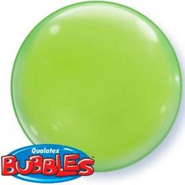 """Globos de foil de 15"""" (38Cm) Bubbles Deco Verde Lima"""