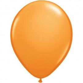 "Globos Redondos de 16"" (41Cm) Standard Naranja Qualatex"
