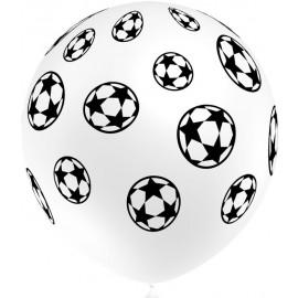 "Globos de Látex 12"" Futbol Balloonia 25Uni"