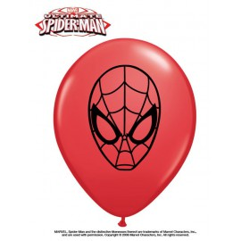 "Globos de 5"" SPIDERMAN Qualatex"