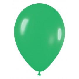 "Globos de 5"" Fashion solido verde JADE"