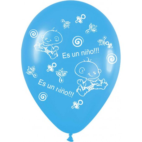 """globos de 12"""" ES UN NIÑO"""